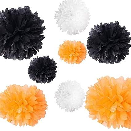 Amazon Com Checkmineout 18pcs 3 Sizes Mixed Orange Black White