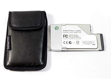 Creative Labs Sound Blaster X-FI Xtreme Audio Notebook - Audio ...