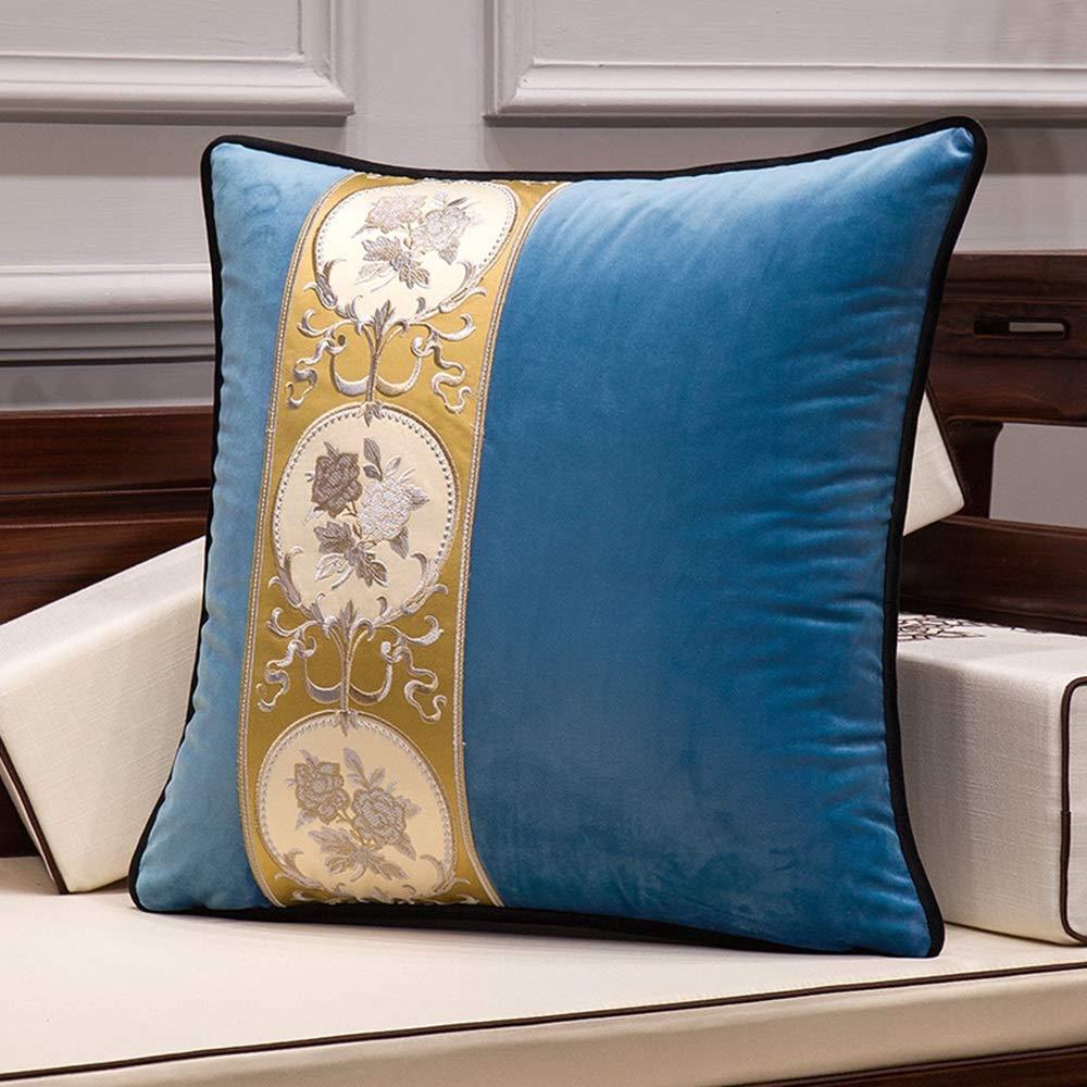 alta calidad SCJS Almohada Decorativa sofá       Almohada Cuadrada cojín Decorativo Adecuado para sofá de Sala de Estar Dormitorio con Cremallera Invisible Opcional Almohada Decorativa (Color  2, 3350cm  calidad de primera clase