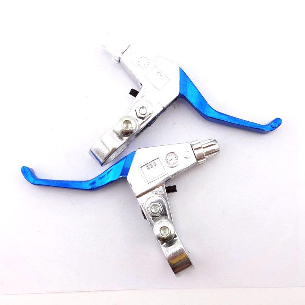 derecha e izquierda para minimoto china de 43 cc 47 cc 49 cc Palancas de freno azules de 2,2 cm Stoneder