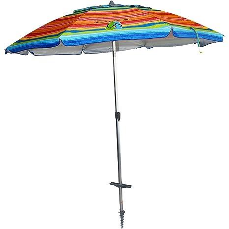 Amazon Com Tommy Bahama 7 Beach Umbrella Garden Outdoor
