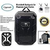 DJI Phantom 3 / 4 Backpack Case Bag Waterproof Travel Shoulder Bag Hardshell Turtle Shell Backpack Universal for Phantom 3 / 4 Drone and Accessories
