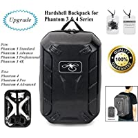 DJI Phantom 3 / 4 Backpack Case Bag Waterproof Travel Shoulder Bag Hardshell Turtle Shell Backpack Universal for Phantom 3 / 4 Drone and Accessories