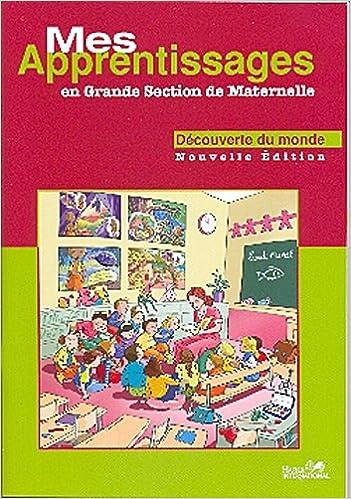 Amazon Fr Mes Apprentissages Gs Maternelle Maths