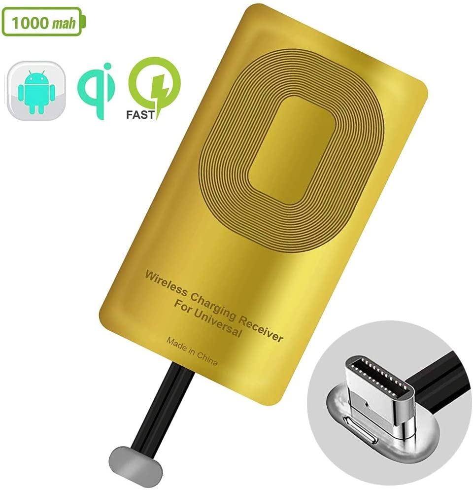 QI Receiver Wireless Charger Type C for Google Pixel 3a Samsung Galaxy A51 A40 LG V20 LG G5 LG Stylo Nexus 6P OnePlus 3 5 Qi Wireless