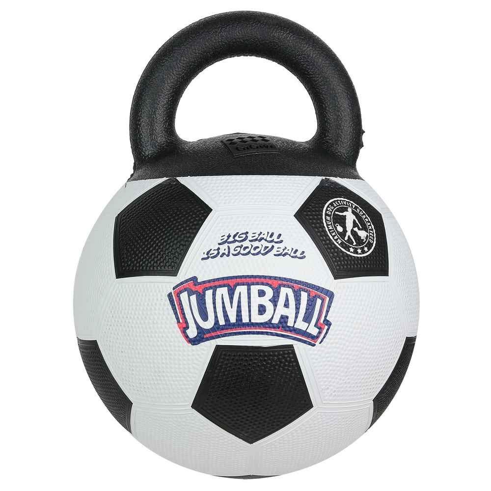 Ballon Foot 20 cm Pour Chien Avec Poign/ée