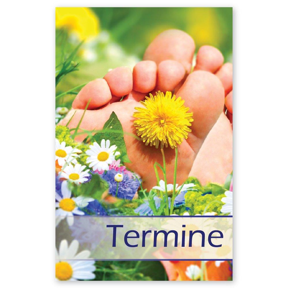 Terminkarten Sommerwiese Mit 5 Terminfeldern Und