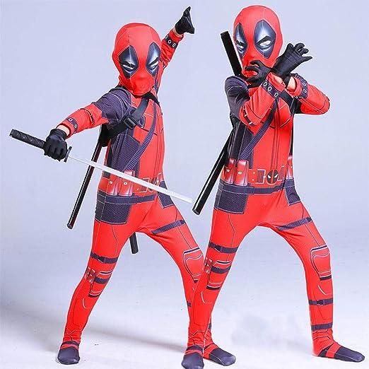 Lydias Anime Cosplay Ropa Disfraz De Deadpool Cosplay Marvel 3D ...