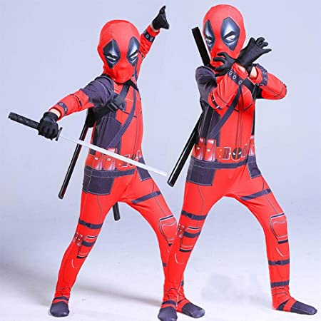 Lydias Anime Cosplay Ropa Disfraz De Deadpool Cosplay Marvel 3D ...