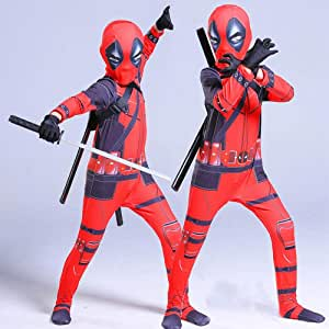 werty Cosplay Ropa Disfraz De Deadpool Cosplay Marvel 3D Impresión ...