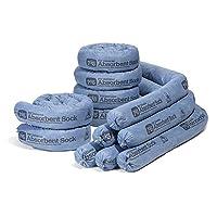 Deals on 12PK New Pig Mildew-Resistant Absorbent Sock 3x48-inch