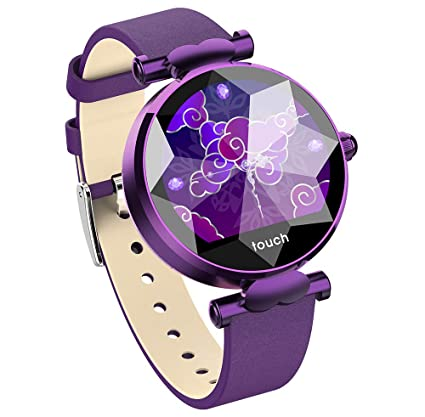 HKPLDE Smartwatch Mujer / IP67 Impermeable Fitness Tracker ...