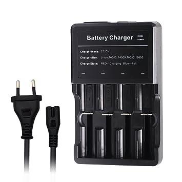 gpisen carga cargador universal de batería inteligente