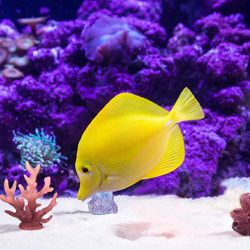 YaptheS Resina Coral Estrellas de mar Acuario Decoración 7Pcs Pescado Cueva escondite Submarino Paisaje del Acuario Ornamento Coral: Amazon.es: Productos ...