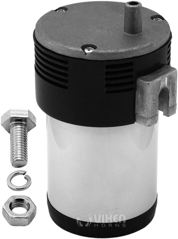 Vixen Horns Universal Compact/Mini Air/Train Horn Compressor 14-18 PSI 12V VXA7223