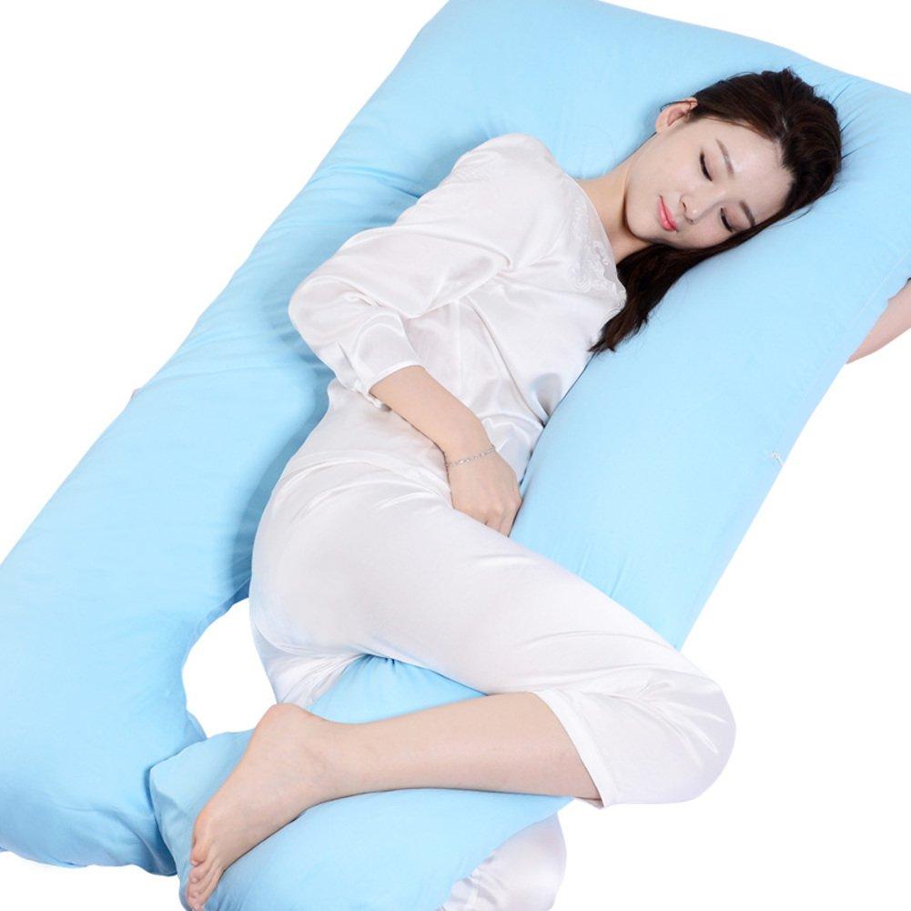 HDSGFDSHGK pregnancy pillow belt pillow side sleeping pillow pregnancy pillow u pillow lateral pillow multi-functional pillow-A 130x70x23cm(51x28x9inch)