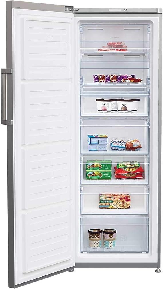 Beko FFP1671S - Congelador vertical independiente (60 cm), color ...