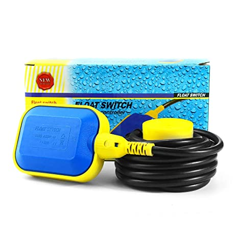 250V 16 8 2 meters 6.56ft Cable Float Switch Level Controller Water Tank Sensor Sump Pump Accessories A Plastic Polypropylene Nontoxic 2Meters