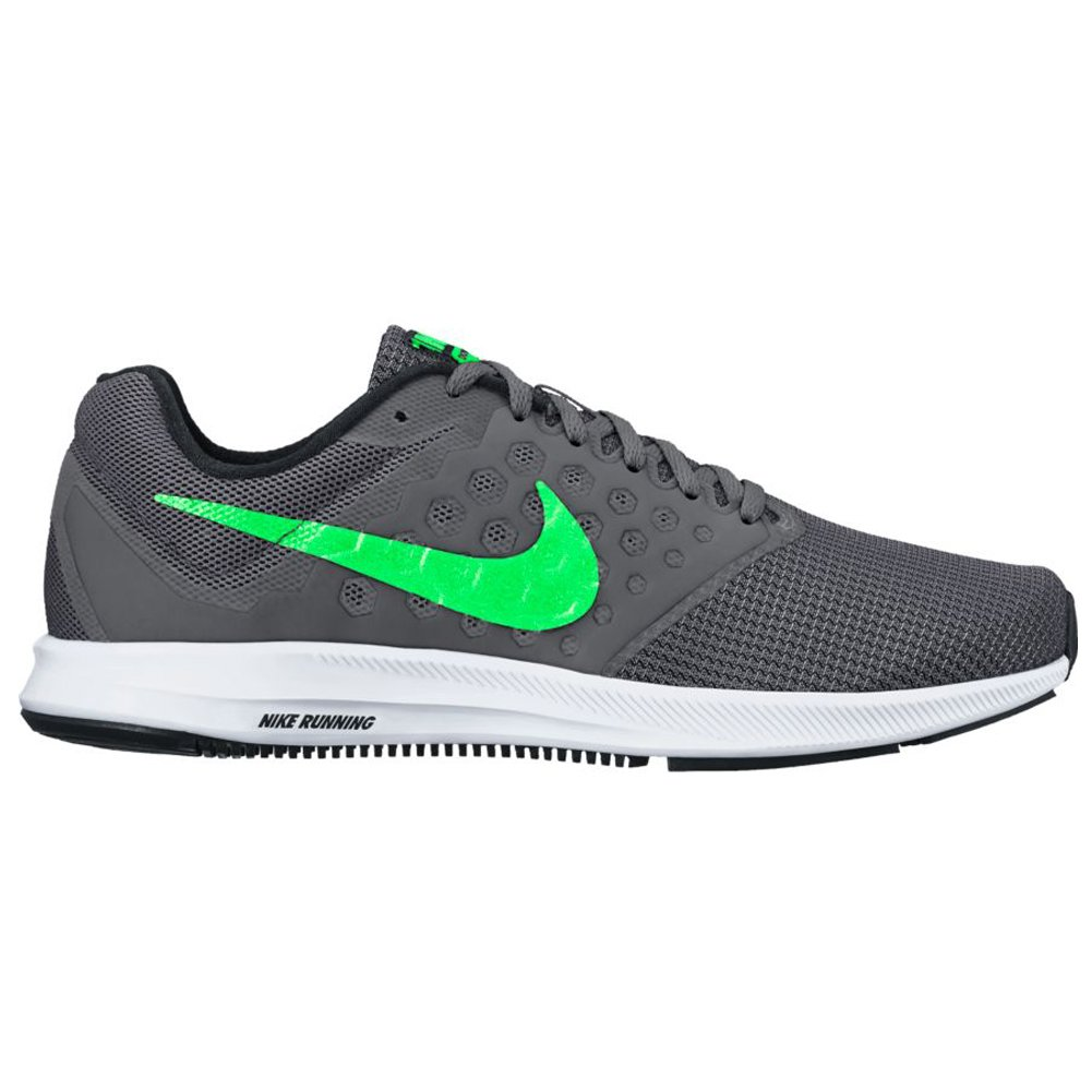 size 40 34154 a2c56 Nike Men s Dowshifter 7 Dark Grey  Rage Green Running Shoes (UK-10  (US-11))  Buy Online at Low Prices in India - Amazon.in