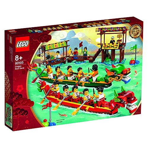 Dragon Boat Race - LEGO 80103 Chinese Dragon Boat Race 2019 Asia Exclusive