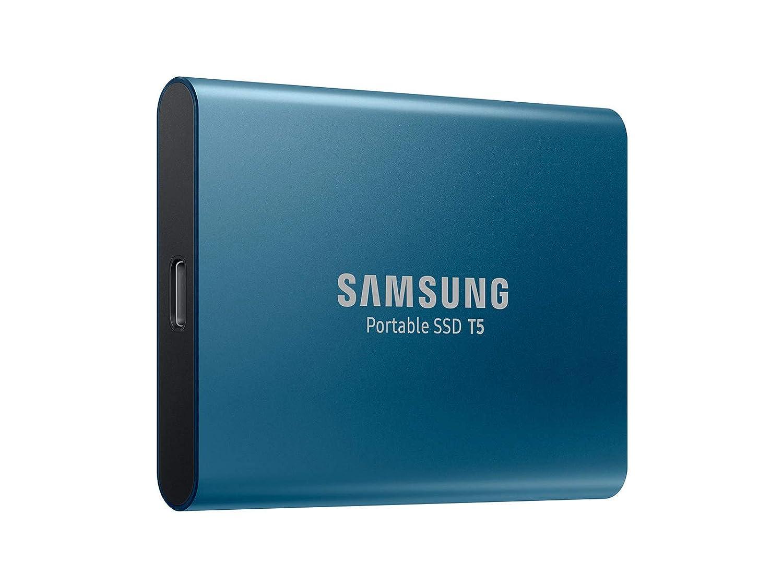 Amazon.com: Disco duro externo, Samsung T5, Azul: Computers ...
