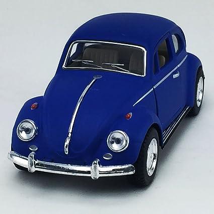 1:32 Die Cast Metal Collectable Kinsmart 1967 Volkswagen Classical Beetle Blue
