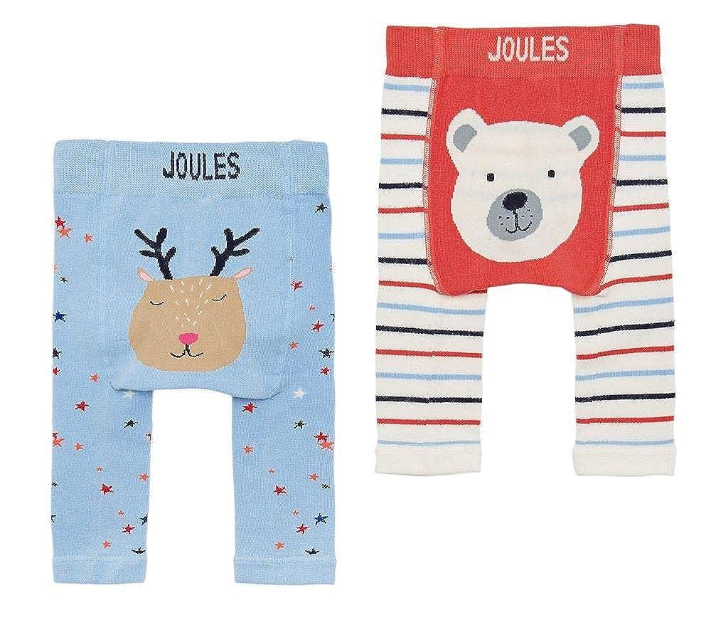 Joules Baby Lively Twin Pack Leggings - Boys Polar Bear