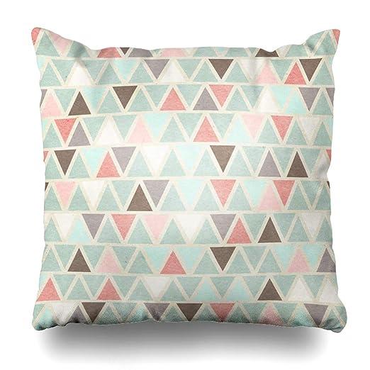 Ahawoso - Funda de almohada decorativa con diseño de flores ...