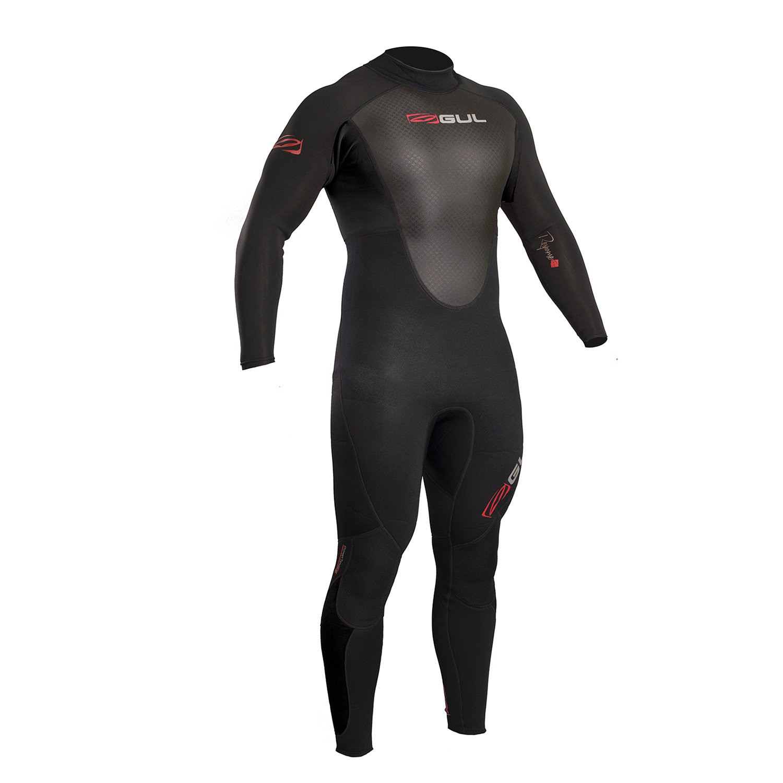 2018 Gul Response 3 2mm Flatlock Back Zip Wetsuit nero RE1321-B4 Wetsuit Dimensiones - Medium Small Tall