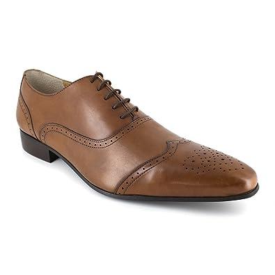 J.BRADFORD Chaussures Richelieu JB-DARVIN Camel - Couleur - Marron D6hmCB