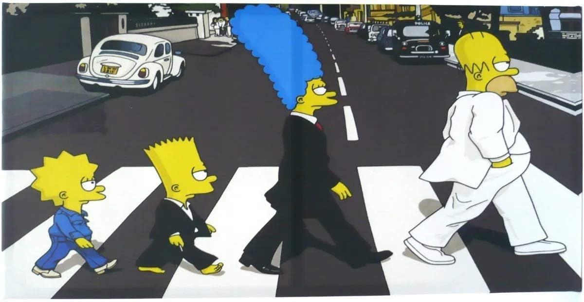 Simpsons The Beatles