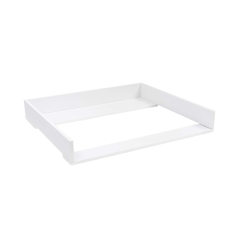 Hurdal Kommode in wei/ß Wickelaufsatz f/ür IKEA Hemnes