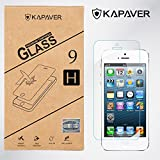 Kapaver iphone SE/5/5S/5C 2.5D Curved Edge 9H Hardness With Camera Cut Premium Screen Guard Protector