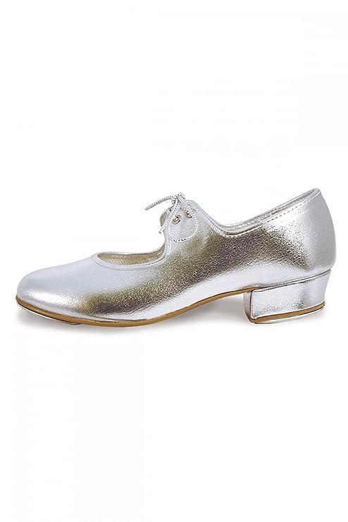 Lhp Vallée Roch - Chaussures De Claquettes, Argent Plaqué Argent Taille: 4 Uk / 37 Eu