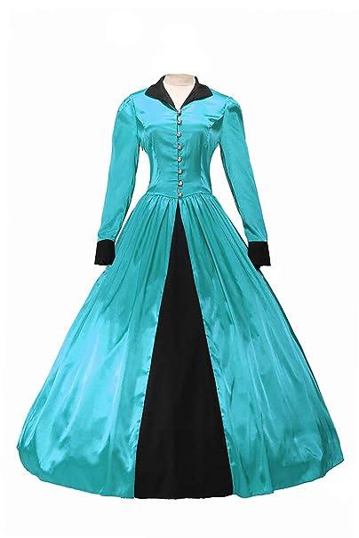 Amazon.com: MCOS - Vestido de pelota de lolita gótico de ...