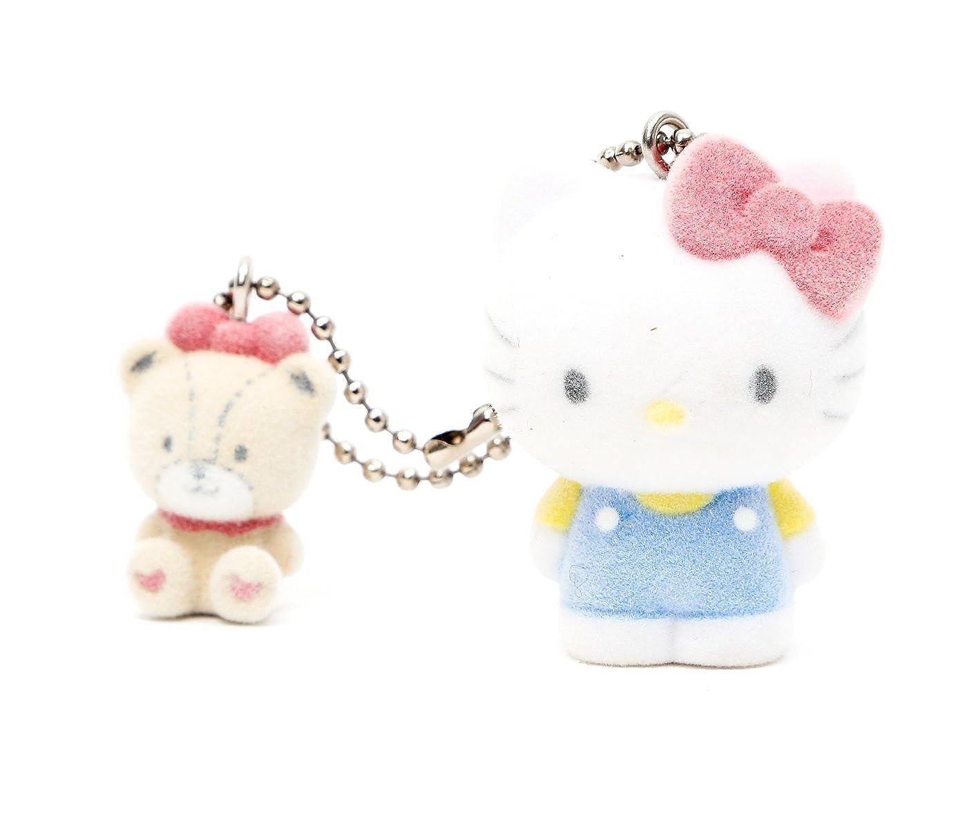 Amazon.com  Sanrio Hello Kitty Keychain - Flocked - Featuring Tiny Chum   Shoes 69c0b9f11f31