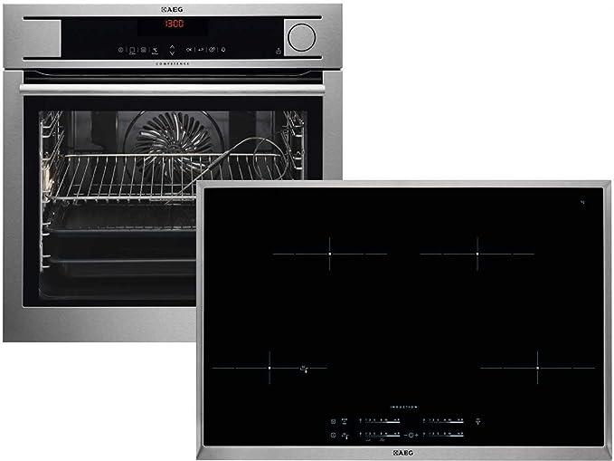 AEG ps81586 Set Vapor del Horno bs8304701 m + Inducción ...