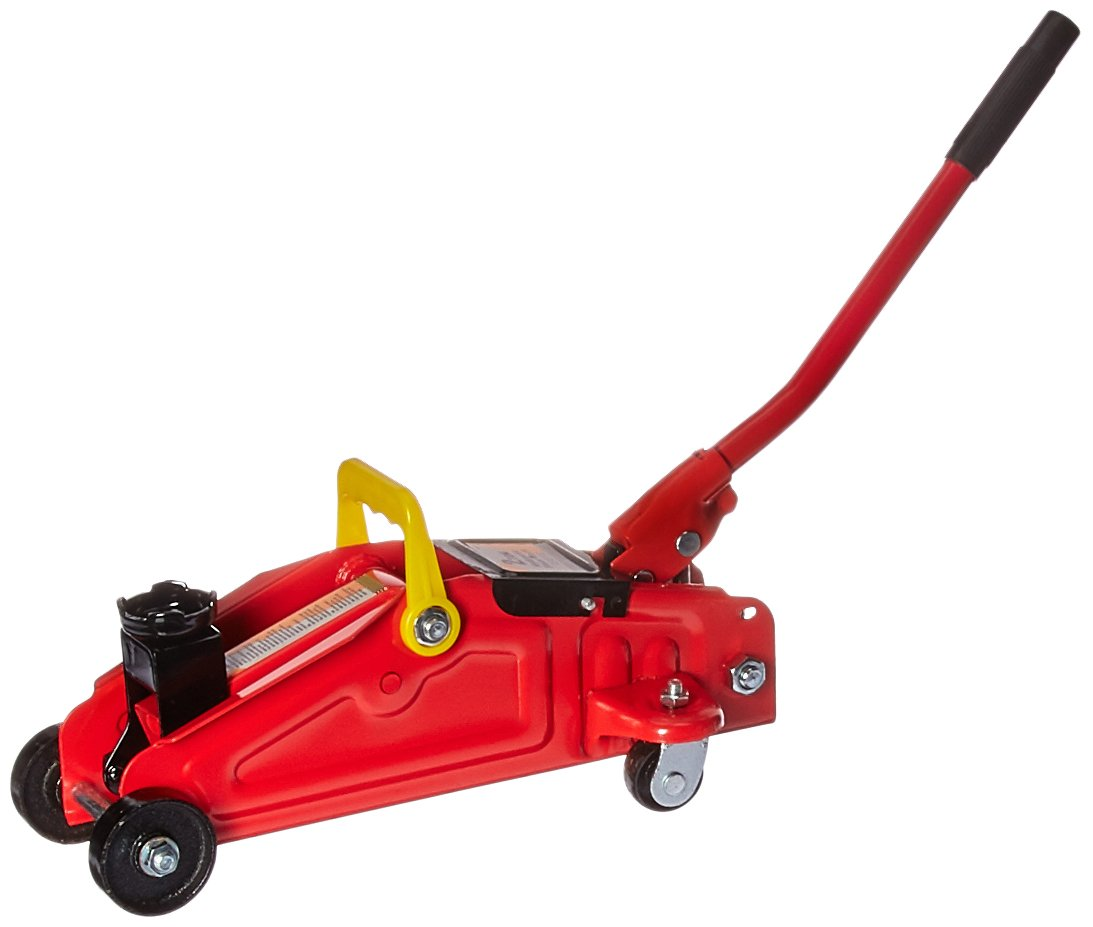 ATE Pro. USA 90102 2 Ton Floor Jack, 16.14'' Height, 5.91'' Width, 8.27'' Length