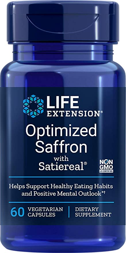 Amazon Com Life Extension Optimized Saffron With Satiereal 60