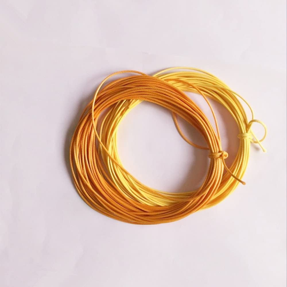 Beige Wrapping 22 Colors Binding Leathersewing High End Twisted 1.5mm Wax Cotton Cord Thread for Jewelry Making Beading Crafting Macrame 10m Knotting