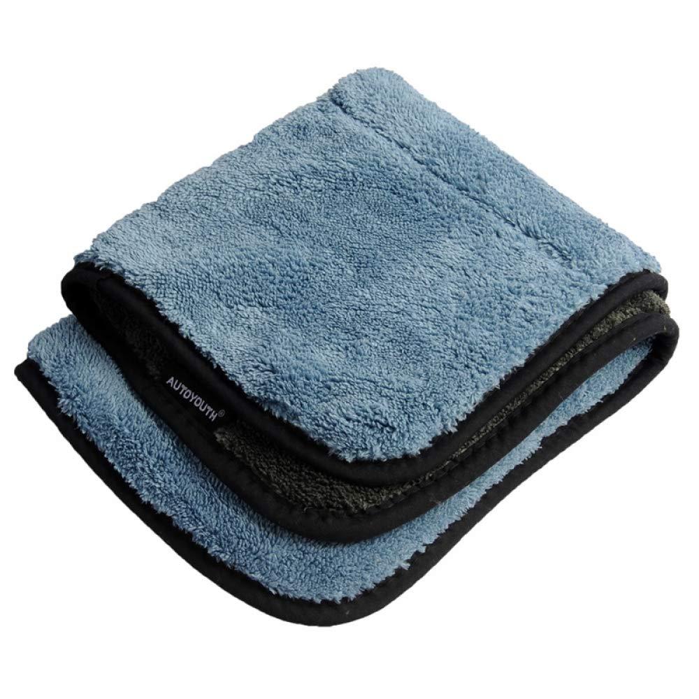 WYQJBKQA 45cmx38cm Extra Thick Plush Microfiber car Cleaning Cloth car Care Microfiber Wax polishing Detail Towel