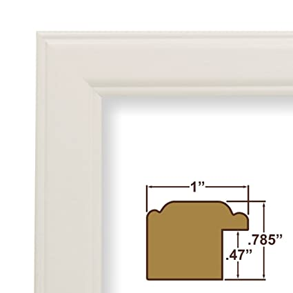 Amazon.com - 19x27 Picture / Poster Frame, Smooth Wood Grain Finish ...