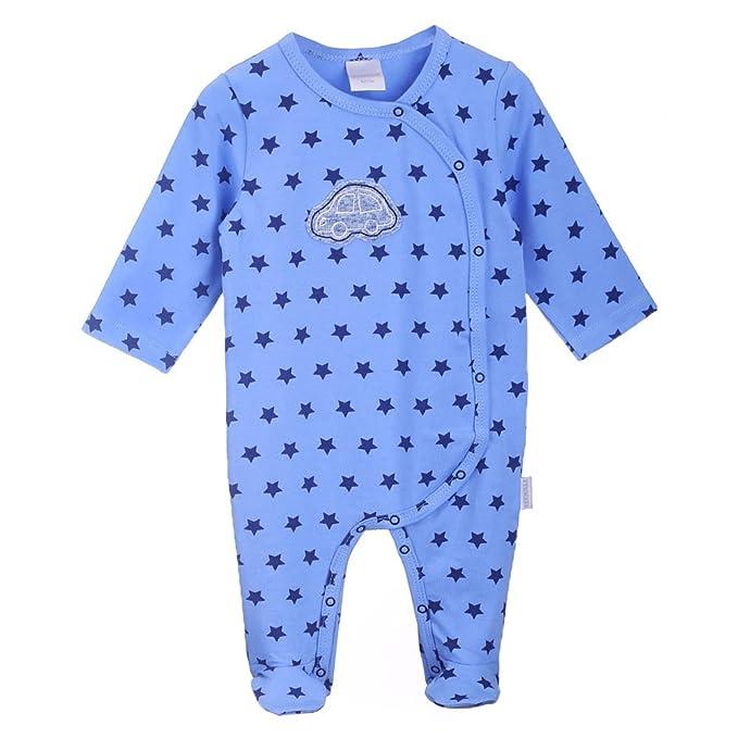 Nacimiento Bebé Niño Mono, Onesie Bebé, Pelele, Pijama, azul, talla 68