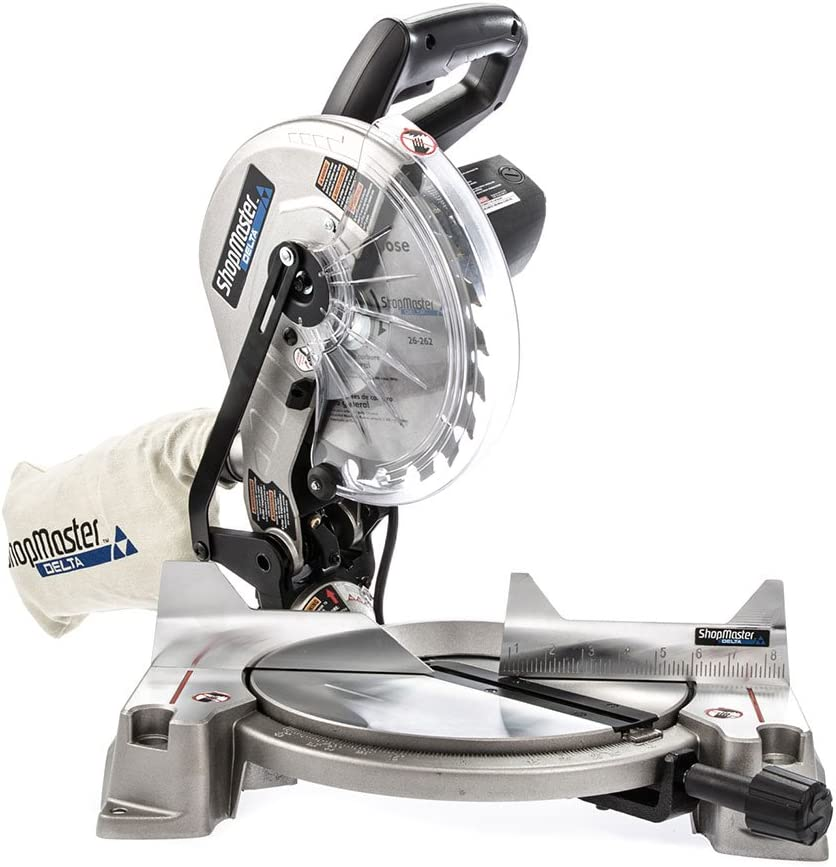 Delta ShopMaster S26-260L 10-Inch Compound Miter Saw w// Laser NEW