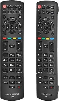 Alkia N2QAYB000830 - Mando a Distancia para Panasonic Viera/LCD/LED/TV: Amazon.es: Electrónica