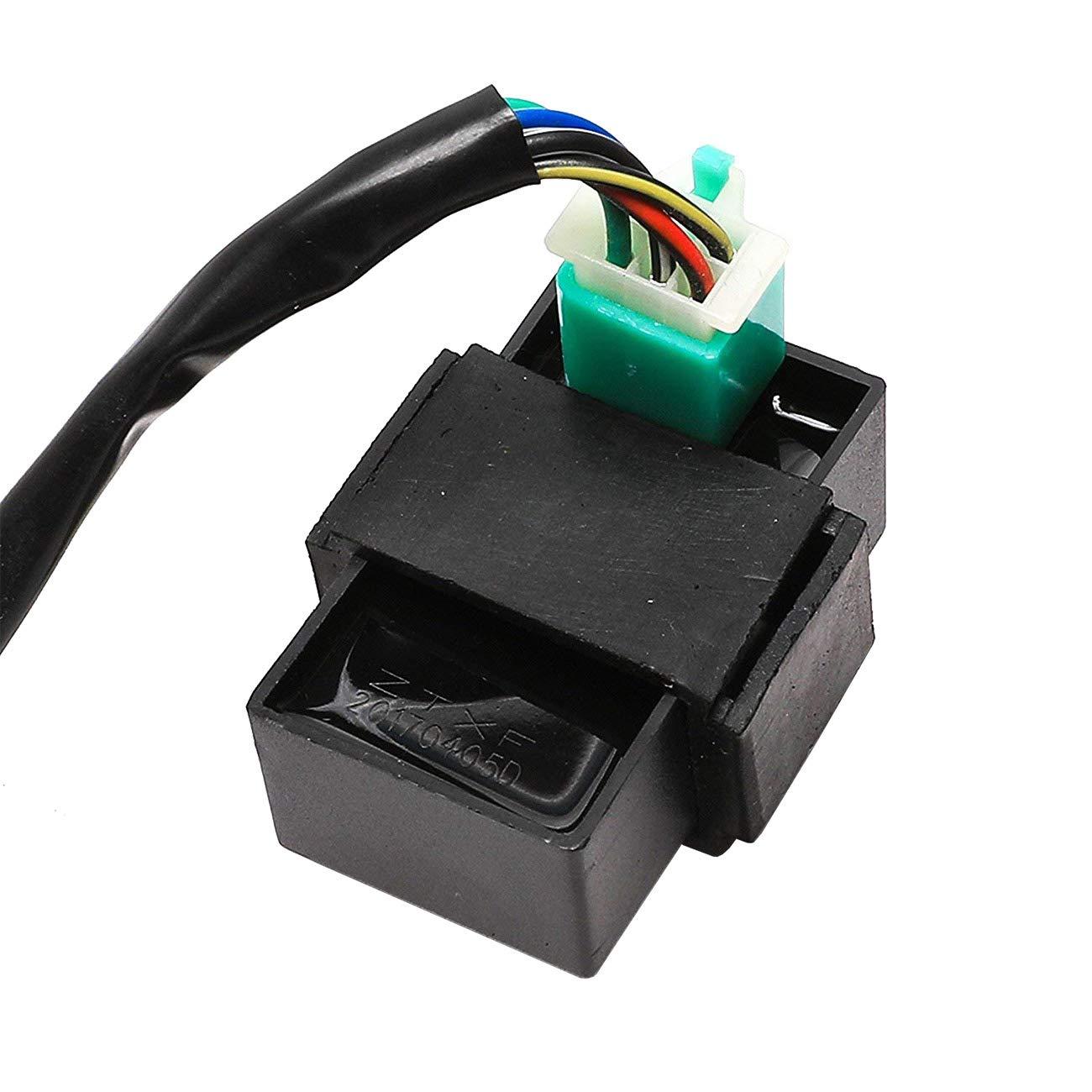 Jcmoto Wire Harness Wiring Loom Cdi Ignition Coil Spark Ssr Pit Bike Plug Rebuild Kit For Kick Start Dirt Atv 50 160cc Automotive