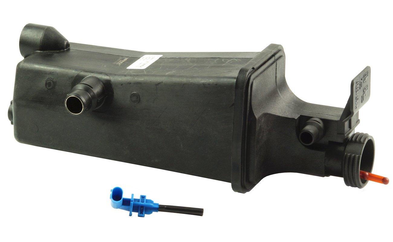 TOPAZ 17111436413 Radiator Coolant Overflow Expansion Tank with Level Sensor for BMW E46 E83 E53 X3 X5