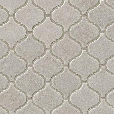 Fog Arabesque 6mm Ceramic Mosaic Tile