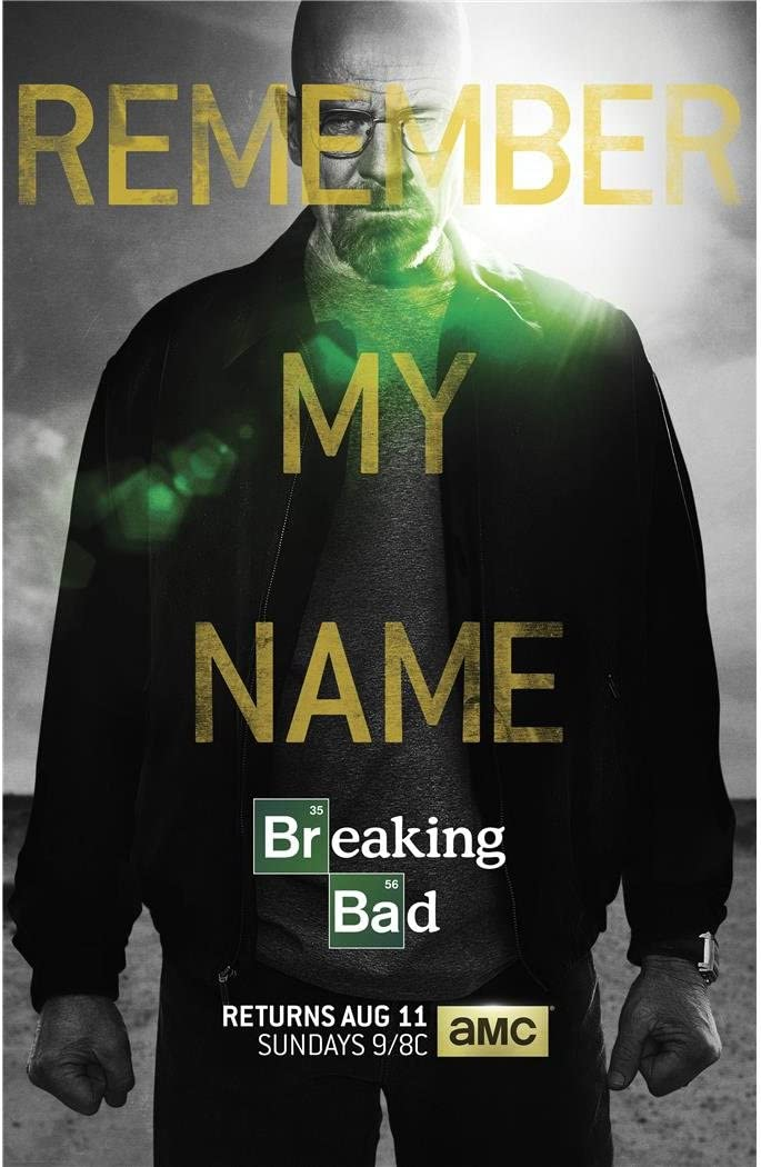 Monty Arts Breaking Bad Season 5 Poster By Silk Printing Size About 60cm X 93cm 24inch X 37inch Unique Gift 35893d Posters Prints
