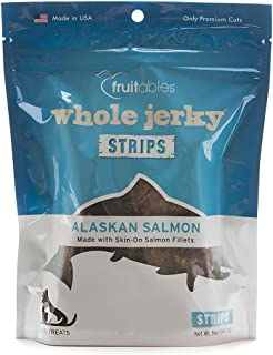 product image for Fruitables Whole Jerky Alaskan Salmon Treats for Dogs | All Natural & Grain Free | 5 Ounces (2584)